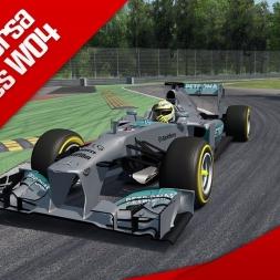 Assetto Corsa F1 2013 Mercedes W04 Onboard Monza