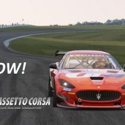 Maserati GranTurismo GT4 at Donington - Assetto Corsa [G29]
