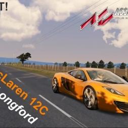 McLaren 12C at Longford - Assetto Corsa [G29]