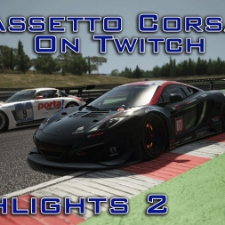 Assetto Corsa - Twitch Highlights #2