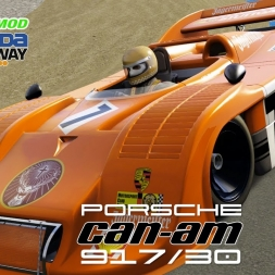 Assetto Corsa - DLC + MOD - Porsche Can-Am 917/30  @ Laguna Seca - PC 60FPS