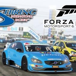 Forza 6 Apex | 2014 Toyota Avensis BTCC @ Sebring International Raceway