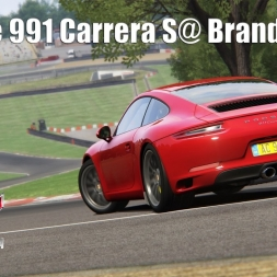 Porsche 991 Carrera S @ Brands Hatch