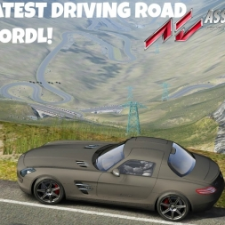 THE GREATEST DRIVING ROAD IN THE WORLD! - Assetto Corsa Transfagarasan[G29]