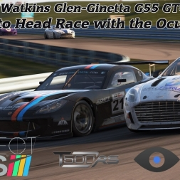 Project Cars : GT4 Race in Watkins Glen (Oculus Rift  CV1 / Head to Head Race /Virtual Reality)