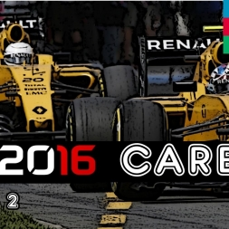 F1 2016 Career - S2R8: Europe: First Banana To The Line