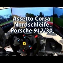 Assetto Corsa - Nordschleife - Porsche 917/30 - Hard to Control (100% Turbo)