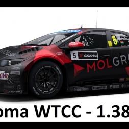RaceRoom Setups - WTCC15 Honda Civic - Sonoma WTCC - 1.38.693LB*