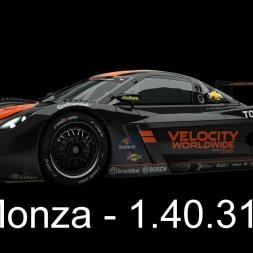 RaceRoom Setups - P2 Chevrolet Daytona - Monza - 1.40.310LB*