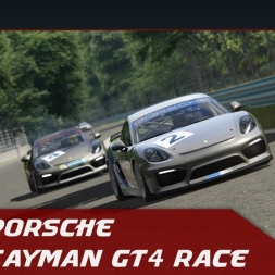 Assetto Corsa - Porsche Cayman GT4 - Road America Race (lovely sound)