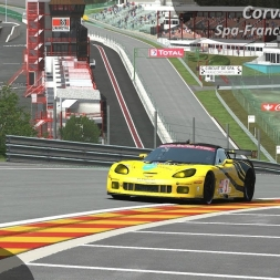 rFactor 2 Enduracers Mod - Corvette C6.R Z1 Spa-Francorchamps