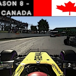 F1 2016 - F1XL Season 8 - Race 7: Canada