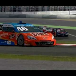 Stock Car V8 @ Nurburgring GP (Full Race)