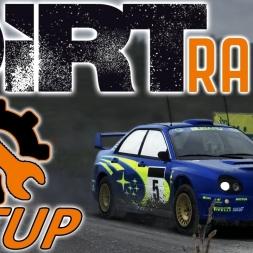 DiRT Rally - Subaru Impreza WRX STI Setup - Wales - Wheel | Controller [4K]