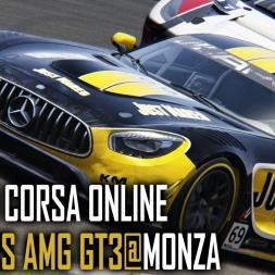 Assetto Corsa [ONLINE] : Mercedes AMG GT3 @ Monza