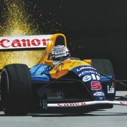 Assetto Corsa 1.9.3 NIGEL MANSELL WILLIAMS FW14 ADELAIDE BONUS VIDEO