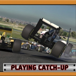 """iRacing: Playing Catch-up"" (iRacing Road Pro Series 2016 - Round 1 - Interlagos)"