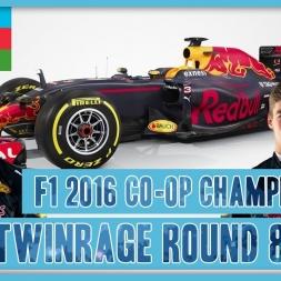 TwinRaGe Youtube Co-op Championship F1 2016 - Round 8 Baku