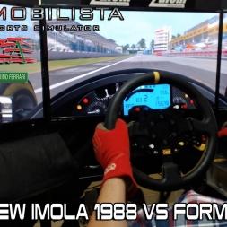 Automobilista - New Imola 1988 Vs Formula V12