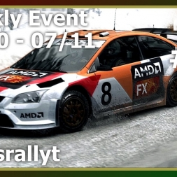 Dirt Rally - Weekly Event 31Oct-07Nov16 - Ford Focus RS - Skogsrallyt