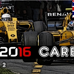 F1 2016 Career - S2R10: Britain - 4 Way Championship Battle?