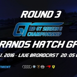 RD GT Championship | R3 Brands Hatch GP