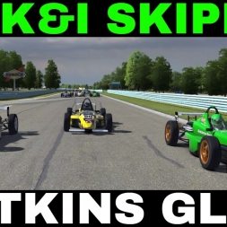 iRacing UK&I Skip Barber League race Round 8 from Watkins Glen