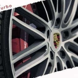 Assetto Corsa Porsche Pack Vol1 Porsche Panamera Turbo at Black Cat County