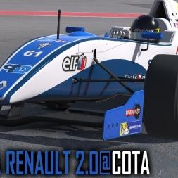 iRacing : Formual Renault 2.0 @ COTA