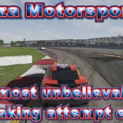 Forza Motorsport 6: The most unbelievable overtake attempt ever