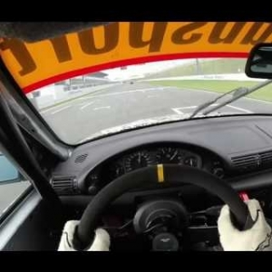 Bmw 318ti Cup Racetaxi - Testing Days Oschersleben 06.11.2016 - Drivers Eye