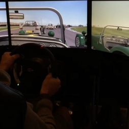 rFactor 2 - Caterham Classic 1.4L -@Donington GP-