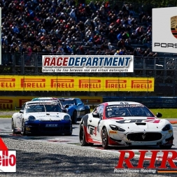 AC • Maserati GT4 vs. Porsche GT4 @ Mugello | Full Race
