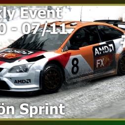 Dirt Weekly 31Oct-07Nov16 - Ford Focus RS - Älgsjön Sprint