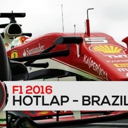 F1 2016: Hotlap - Brazil Grand Prix - Ferrari/Vettel