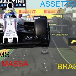 Assetto Corsa 1.9.3 F1 ACFL 2016 V4.02 WILLIAMS MASSA BRAZIL GP