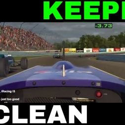 iRacing Formula Renault at Watkins Glen - Keeping it clean