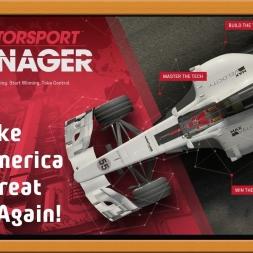 """""""Motorsport Manager Ep. 1 Career: Make America Great Again!"""""""