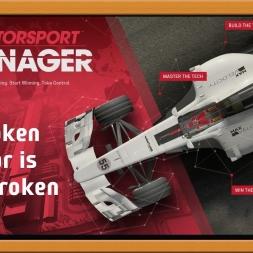 """""""Motorsport Manager Ep. 2 Career: Broken Car is Broken"""""""