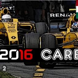 F1 2016 Career - S2R11: Hungary - Red Bull Present