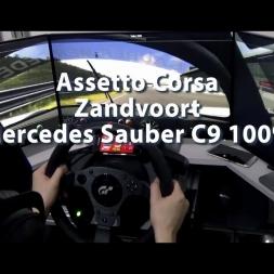 Assetto Corsa - Zandvoort - Mercedes Sauber C9 100% Turbo