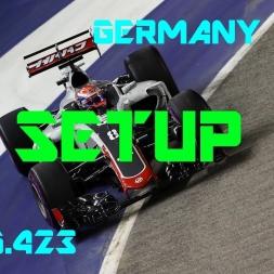 Germany GP - Haas F1 Team - Setup (1.15.423) No Assists