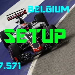 Belgium GP - Haas F1 Team - Setup (1.47.571) No Assists