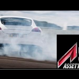 Assetto Corsa: Abusing a Panamera Turbo