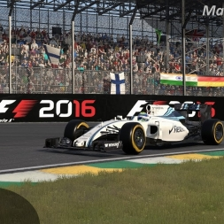 F1 2016 Massa Onboard Interlagos