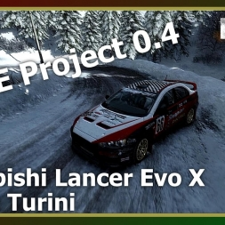 Dirt Rally - RFPE Project 0.4 - Mistubishi Lancer Evo X - ON ICE