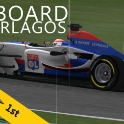 PSRL Super League 2014 | Interlagos | Damp Weather | Balazs Toldi OnBoard