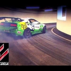 Assetto Corsa Mod Map: Drifting up a parking garage!