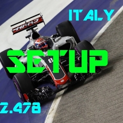 Italy GP - Haas F1 Team - Setup (1.22.478) No Assists