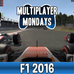 Multiplayer Mondays F1 2016 - An Exercise In Distraction